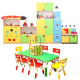 Children's playroom, and party room