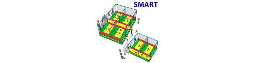 Trampolini multipli Smart