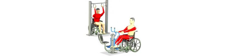 Fitness per diversamente abili.