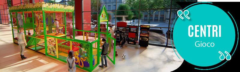 Centri gioco in medie/grandi strutture