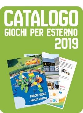 CATALOGO GIOCHI PER ESTERNO 2019