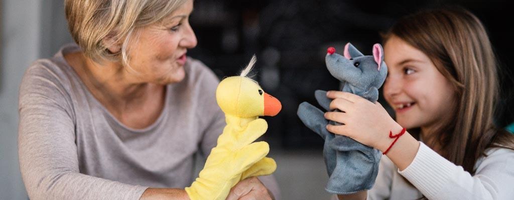 Teatrini per bambini: burattini e marionette in scena