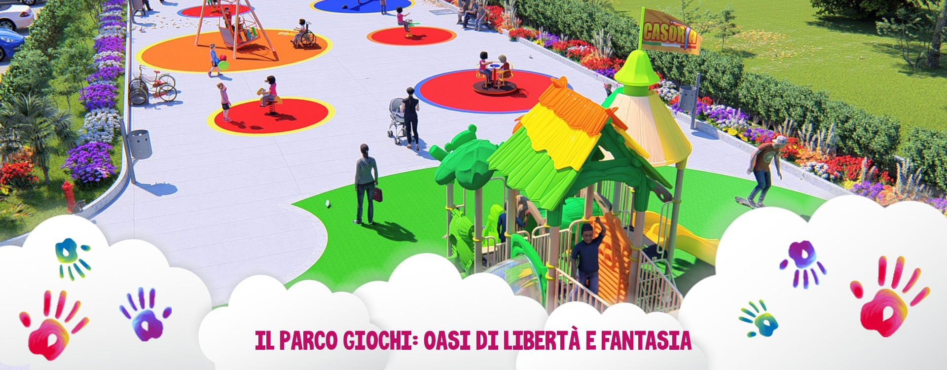 Il Parco Giochi: oasi di libertà e fantasia, senza dimenticare la sicurezza dei bambini